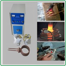 30kw High frequency induction soldering equipment high frequency saw blade welding