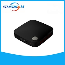 Mini desktop pc J1900 intel quad core Mini pc case with RJ45