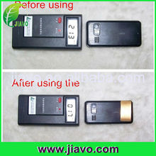 Anti radiation cell phone sticker packed with opp bag/ plastic box