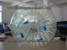 most popular amusing outdoor game Grass rolling balls or zorb ball SP-ZB016