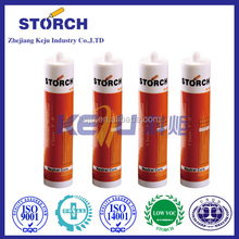 Neutral cure silicone sealant for stone thermal conductive glue