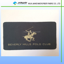bronzing hot silver microfiber cleaning cloth,printed microfiber cleaner