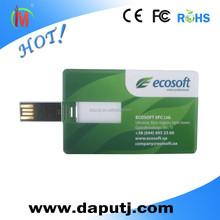 1gb/2gb/4gb/8gb top sell business card usb flash drive