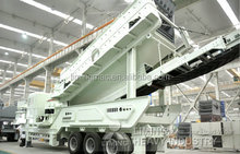 Movable load crushing plant