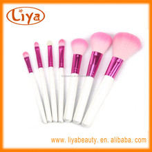7 pcs make up brush sets for cosmetic tools with nylon hair