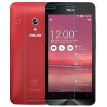 Super Thin Tempered Glass Film for Asus Zenfone 5 with 0.2mm Round Border Transparent Screen Protector with Clean Tools
