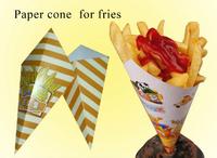 fried food potato chips paper bag packaging