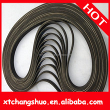 Rubber and PU Material Auto Parts double v belt pulley with Good Quality metal seat belt buckle