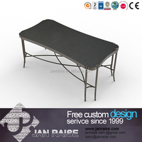 Big sale at square glass modern metal coffee table