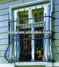morden seguridad ventana de hierro forjado de la parrilla