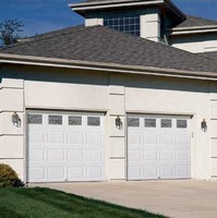 Sectional Manual Lifting Garage Door , Manual Lift Garage Door