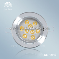 CE led downlight 9w,led recessed down light,led downlight