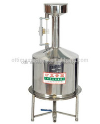 20L stainless steel measuring can petrol station machine