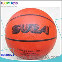 New Products 27CM rubber basketball ball game sports toy with stands for kids play with family members big 5 sporting goods