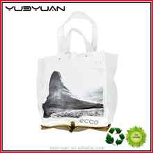 2015 New design promotional shanghai factory price high quality China supplier nylon mesh non-woven foldable shopping bag