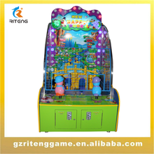 2015 new arrival happy duck arcade ticket redemption game machine