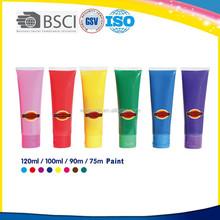 75ml non-toxic neon fabric textile paint