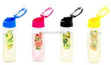 Water Infuser Bottle Blue 24OZ /Premium Tritan Material-BPA Free- Leak Proof Bottle Cap