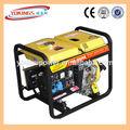 Pequeño generador casero portátil diesel 2-10kw