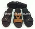 2015 chegada novo produto do homem de couro sandália baratos