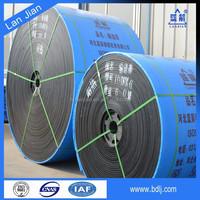 High Tensile Heat Resistant Polyester Fabric Cotton Canvas Iron Ore Conveyor Belt Price