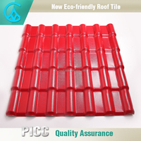 High Quality Light Weight Synthetic Spanish Roof Tiles