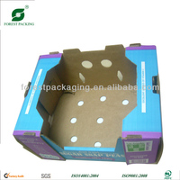 FRUIT RECYCLED MATERIALS CARD PACKAGING BOX