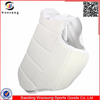 White champion karate chest guard (protector)