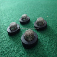 High quality Stainless steel rubber washer filter (factory, ISO 9001 certificate )