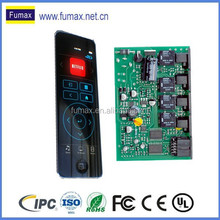Customized pcba manufacturing, universal remote control for TV/Car
