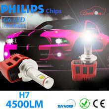 Qeedon discount new 9007 car bulb 45w 9000lm led d headlight