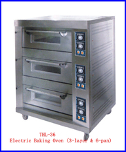 Bakery Equipment Stainless Steel Arabic Electric Bread Baking Oven For Sale( THL-36)