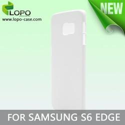 3D sublimation phone case for Samsung S6 edge