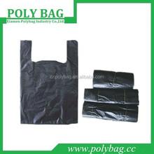 promotion branded order custom fashion plastic bag tshirt