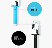 CC Mirror stick for iphone Smart phone Extendable Hand Held, mirror selfie
