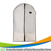 Nonwoven fabric suit dust proof cover pouch transparent clothing storage bag Suit Cover