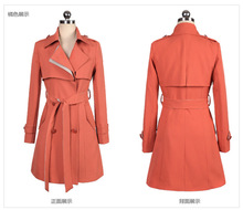 2014 Wholesale women's korean style fashion new model spring autumn coat and jacket for women