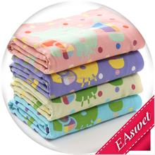 100% Cotton 3 layers Yarn Dyed Jacquard Printed Eco-friendly Super Soft Bath Towel