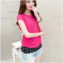 Wholesale Custom OEM china striped baseball custom basketball warm up women tank top blouses shirts