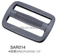 SBS black tri-glide plastic buckle for backpack SAR014