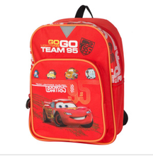 Polyester Cartoon Car Fashion Boy School Bag
