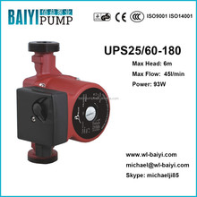 Solar system hot water boosting pump RS25/60-180 pump, solar heater pump