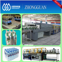 Small Beverage Bottle Shrink Wrapping Machine