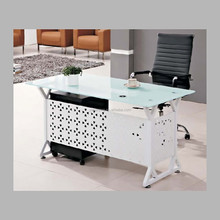 unique metal glass office executive desk