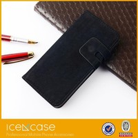 For iPhone 6 Genuine Leather Case Retro Style Magnetic Flip Cover