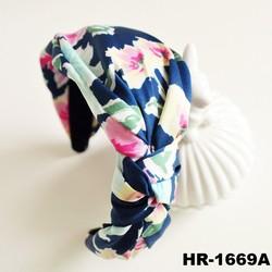 Multicolor retro thick headbands knitted headband fancy headbands for women