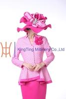 Fashion ladies formal suits designs wedding dresses church dresses
