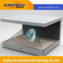Most popular 3D Holographic showcase /Hologram 3D display box for advertising