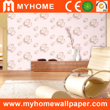 2015 new products home decor, Korea wallcovering, 3d wallpaper for bedroom