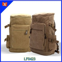 Fashion waterproof custom canvas backpack sport backpack